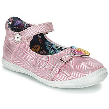 Schuhe Mädchen Sandalen / Sandaletten Catimini SITELLE Rose / Silbern