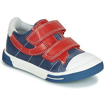Schuhe Jungen Sneaker Low Catimini SORBIER Blau / Rot