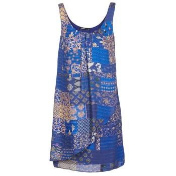 Kleidung Damen Kurze Kleider Desigual OFFOELA Blau