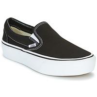 Chaussures Femme Slip ons Vans SLIP-ON PLATFORM Noir