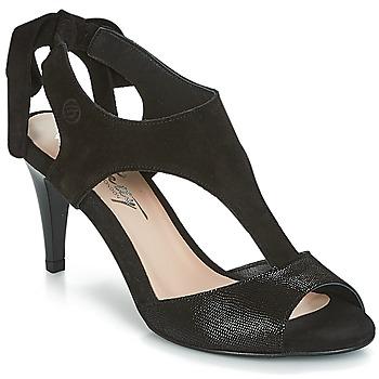 Schuhe Damen Sandalen / Sandaletten Betty London INILAVE Schwarz
