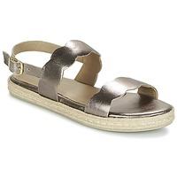 Schuhe Damen Sandalen / Sandaletten Betty London IKARO Silbern