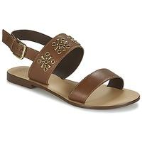 Schuhe Damen Sandalen / Sandaletten Betty London IKIMI Braun