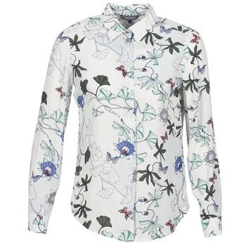 Kleidung Damen Hemden Tommy Hilfiger MIRAN-SHIRT-LS Weiss