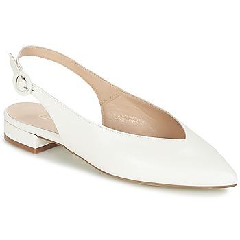 Schuhe Damen Ballerinas Fericelli IKIRUA Weiß