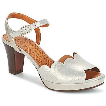 Schuhe Damen Sandalen / Sandaletten Chie Mihara UNDIA Silbrig