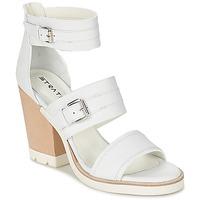 Schuhe Damen Sandalen / Sandaletten Strategia BARREA Weiss