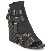 Schuhe Damen Low Boots Strategia BUGNARA Schwarz