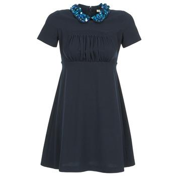 Abbigliamento Donna Abiti corti Manoush COMMUNION Blu