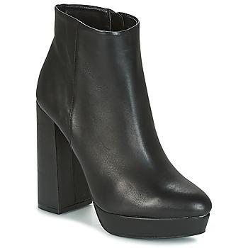 Schuhe Damen Low Boots Buffalo  Schwarz