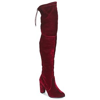 Schuhe Damen Kniestiefel Buffalo  Rot