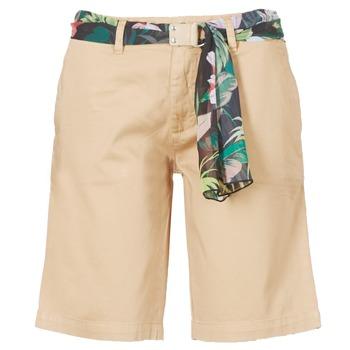 Kleidung Damen Shorts / Bermudas Guess BENARIO Beige