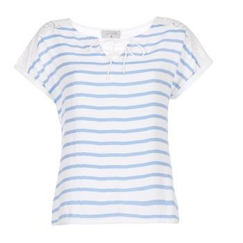 Abbigliamento Donna Top / Blusa Casual Attitude IYUREOL Bianco / Blu