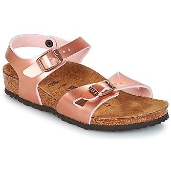 Schuhe Mädchen Sandalen / Sandaletten Birkenstock RIO Rose