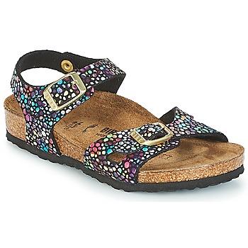 Chaussures Fille Sandales et Nu-pieds Birkenstock RIO Noir