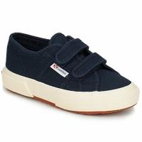 Scarpe Unisex bambino Sneakers basse Superga 2750 STRAP Marine