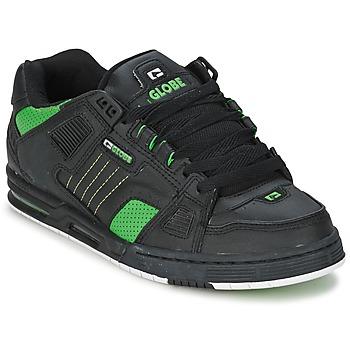 Schuhe Herren Sneaker Low Globe SABRE Schwarz / Grün