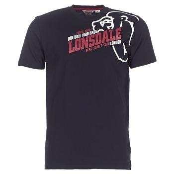 Kleidung Herren T-Shirts Lonsdale WALKLEY Schwarz