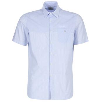 Kleidung Herren Kurzärmelige Hemden Oxbow K1CAMINO Blau / Himmelsfarbe