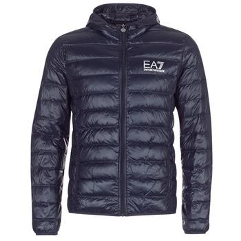 Abbigliamento Uomo Piumini Emporio Armani EA7 CORE ID 8NPB02 Marine