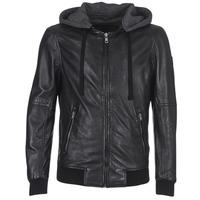 Vêtements Femme Vestes en cuir / synthétiques Oakwood JIMMY Noir