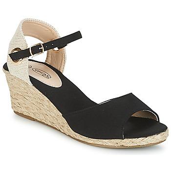 Schuhe Damen Sandalen / Sandaletten Spot on BONDER Schwarz
