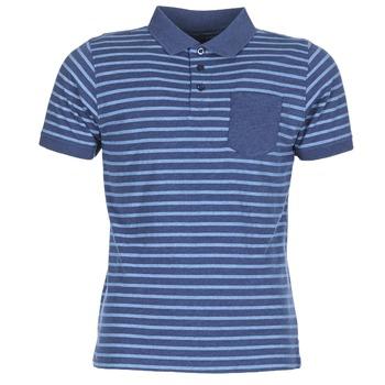 Abbigliamento Uomo Polo maniche corte Casual Attitude INUTIOLE Blu / Bianco