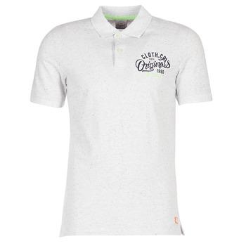 Abbigliamento Uomo Polo maniche corte Jack & Jones JORTRAST Bianco