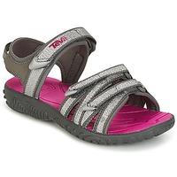 Chaussures Fille Sandales et Nu-pieds Teva TIRRA Argenté  /  Magenta
