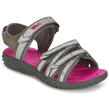 Schuhe Mädchen Sandalen / Sandaletten Teva TIRRA Silbrig / Magenta