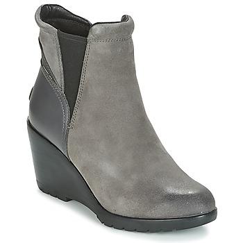 Chaussures Femme Bottines Sorel After Hours Chelsea Gris