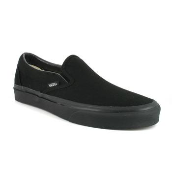Schuhe Slip on Vans CLASSIC SLIP ON Schwarz / Schwarz