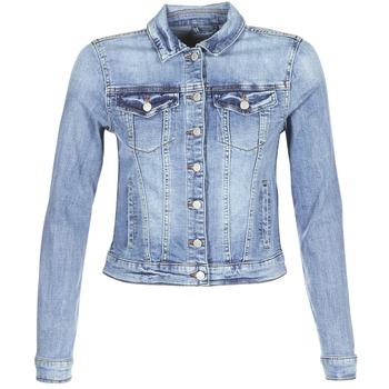 Kleidung Damen Jeansjacken Vila VISHOW Blau