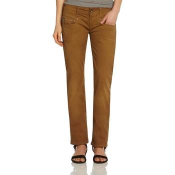 Vêtements Femme Pantalons 5 poches Freeman T.Porter DIANE GABARDINE STRETCH Corona