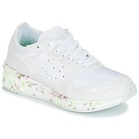Schuhe Kinder Sneaker Low Asics HYPER GEL-LYTE GS Weiss / Rose / Grün