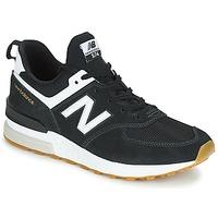 Schuhe Herren Sneaker Low New Balance MS574 Schwarz