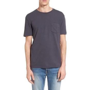 Vêtements Homme T-shirts manches courtes Obey LOMBARD PIQUE Indigo