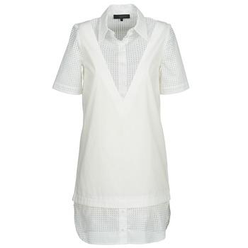 Kleidung Damen Kurze Kleider American Retro CHARLOTTE Weiß