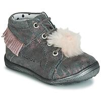 Schuhe Mädchen Sneaker High Catimini PEPITA Grau / Rose
