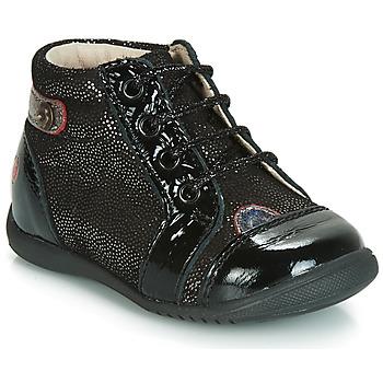 Schuhe Mädchen Sneaker High GBB NICOLE Schwarz