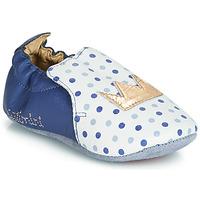 Scarpe Bambina Pantofole Catimini CHIQUETTE Blu / Bianco