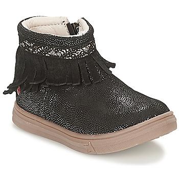 Chaussures Fille Boots GBB NEFFLE Noir disco