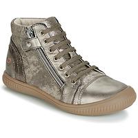 Schuhe Mädchen Sneaker High GBB RACHIDA Maulwurf / Bronze