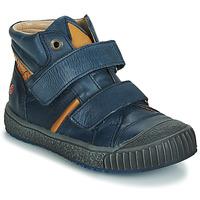 Schuhe Jungen Sneaker High GBB RAIFORT Marine / Ocker