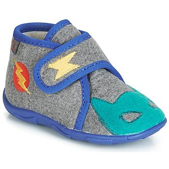 Scarpe Bambino Pantofole GBB SUPER DOUDOU Grigio / Blu