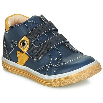 Schuhe Jungen Sneaker High Catimini BICHOU Marine / Senf
