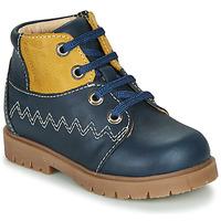 Schuhe Jungen Boots Catimini CHARLY Marineblau