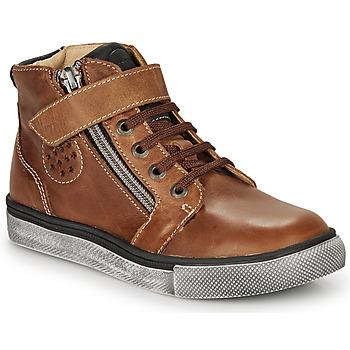 Scarpe Bambino Sneakers alte Catimini TOBBY Marrone
