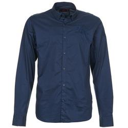 Abbigliamento Uomo Camicie maniche lunghe Les voiles de St Tropez ACOUPA Marine
