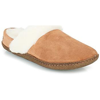 Schuhe Damen Hausschuhe Sorel NAKISKA SLIDE II Camel